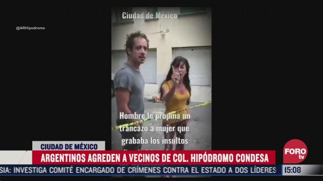 argentinos insultan a mujer que los grabo llamandola india horrible en la cdmx