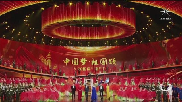 arrancan las celebraciones del 71 aniversario de la republica popular china