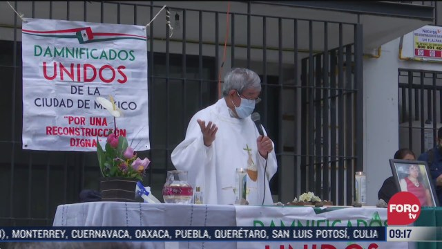 asi se llevaron a cabo los homenajes a victimas de los sismos en cdmx