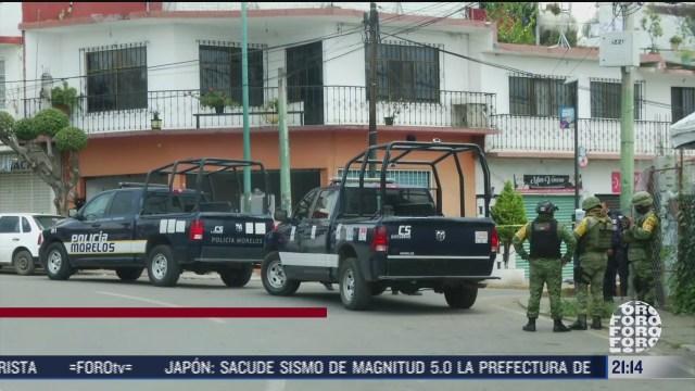 atribuyen a banda los colombianos ataque armado en velorio en morelos