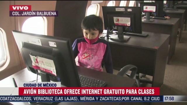 avion biblioteca en alcaldia venustiano carranza ofrece internet gratis