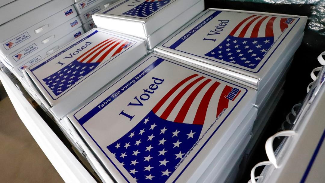 Boletas de votación en Estados Unidos