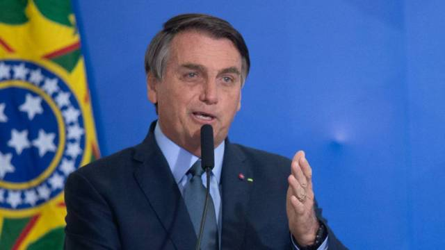 El presidente brasileño Jair Bolsonaro respaldó la visita del secretario de Estado de EEUU, Mike Pompeo