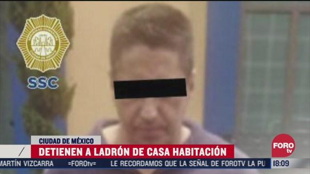 capturan a hombre que ingreso a robar a departamento en la condesa cdmx