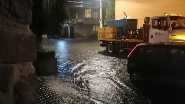 CDMX registra lluvias históricas, de las más fuertes en 20 años