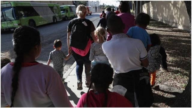 Migrantes en centros de migratorios de Atlanta, Georgia