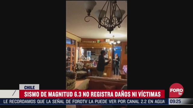 chile registro un sismo de magnitud