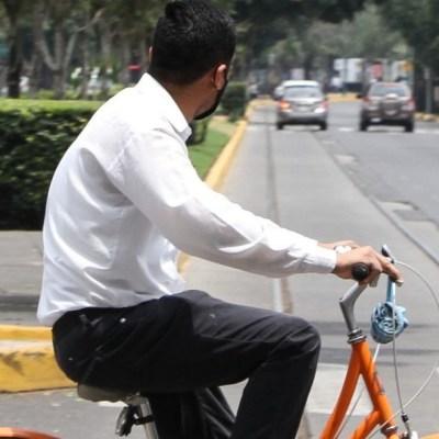 Incrementa hasta 250% el uso de las ciclovías emergentes en CDMX