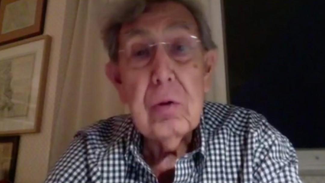 Cuauhtémoc Cárdenas reaparece tras padecer COVID-19
