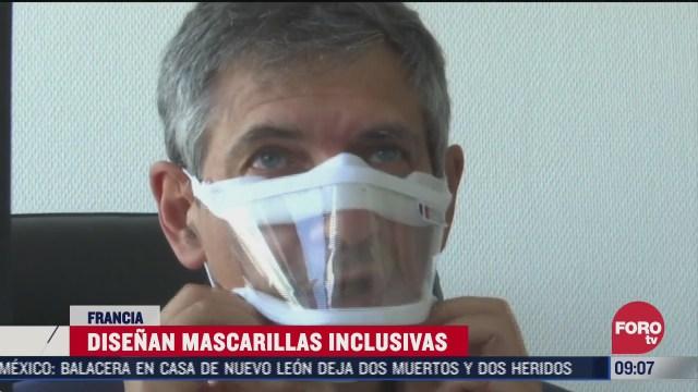 cubrebocas inclusivos en francia para prevenir covid