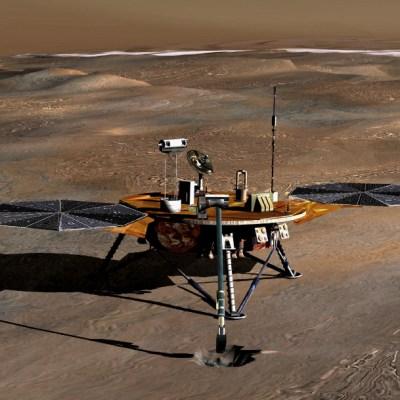 Detectan lagos de agua salada en Marte