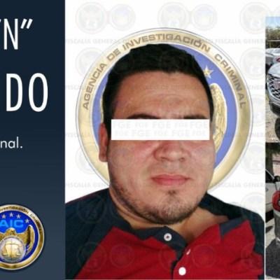 Cae 'El Chinola', presunto jefe de sicarios de 'El Marro' en Guanajuato