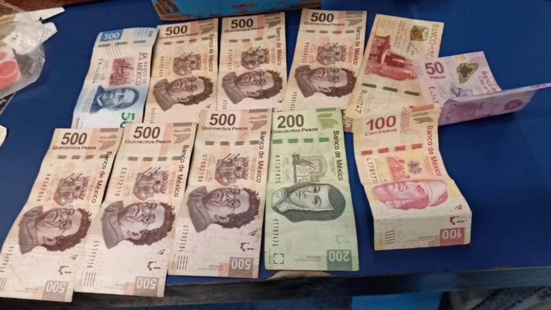 La cartera extraviada en la Estación Colegio Militar del Metro tenía tres mil 968 pesos