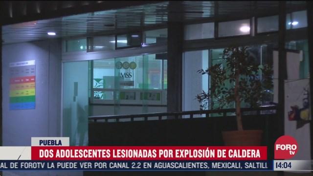 dos adolescente quemados tras explosion en puebla