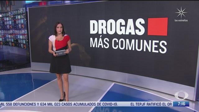 drogas y adicciones mas comunes en mexico