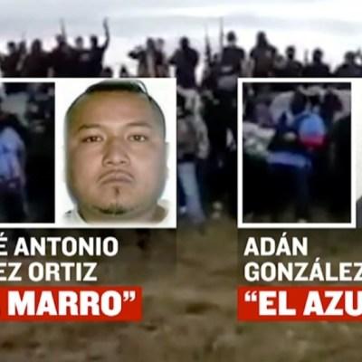 'El Azul', nuevo líder del Cártel de Santa Rosa de Lima y sucesor de 'El Marro'