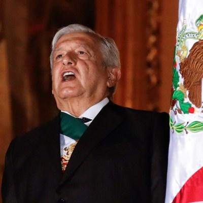 Fotos y videos: Ceremonia del Grito de la Independencia en el Zócalo de CDMX