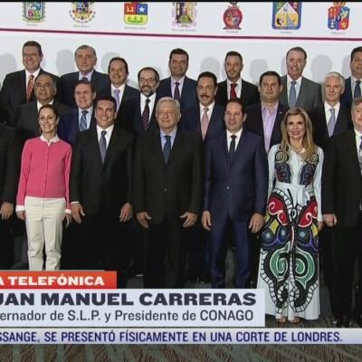 Entrevista con Juan Manuel Carreras, presidente de la Conago, para Despierta