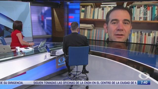 entrevista con lorenzo cordova consejero presidente del ine para despierta