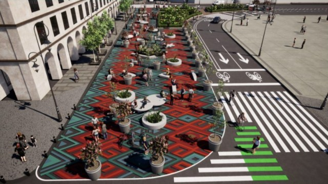 Nuevos espacios peatonales de la CDMX