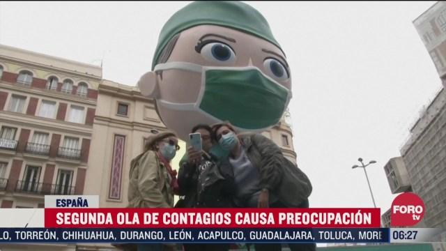 espana registra segunda ola de contagios de covid 19 y casusa preocupacion