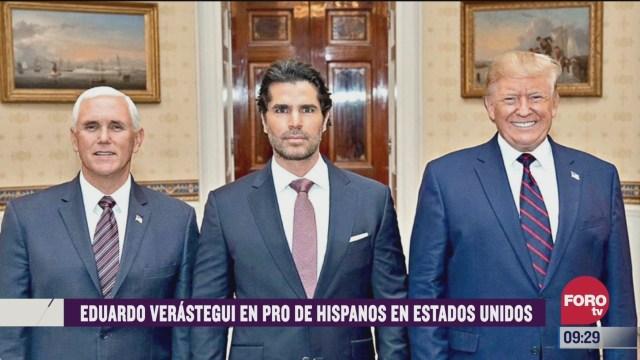 espectaculosenexpreso eduardo verastegui en pro de hispanos en estados unidos
