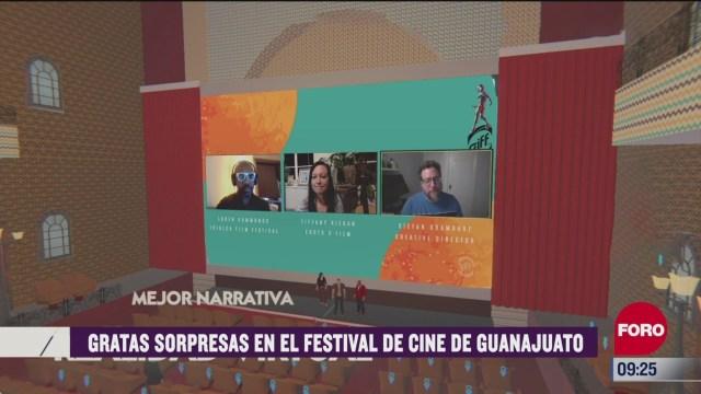 espectaculosenexpreso gratas sorpresas en el festival de cine de guanajuato