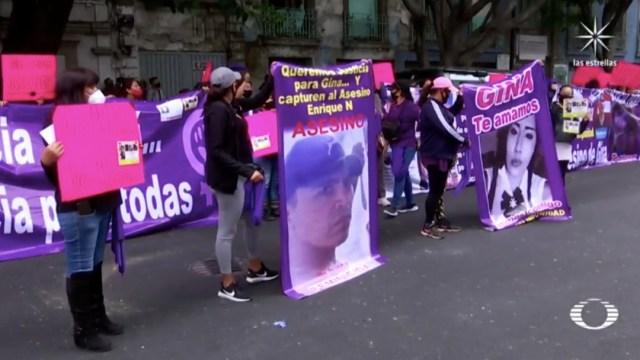 Familiares exigen justicia para Gina, joven asesinada en Ecatepec por su expareja