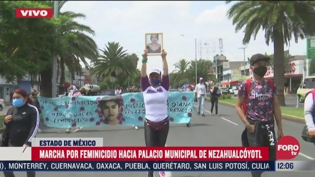 grupos feministas marchan en el edomex contra feminicidios