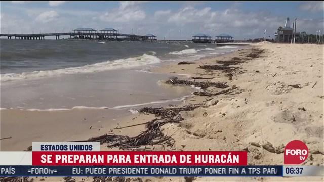 huracan sally toca tierra en luisianaotras ciudades en ee uu se preparan para su llegada