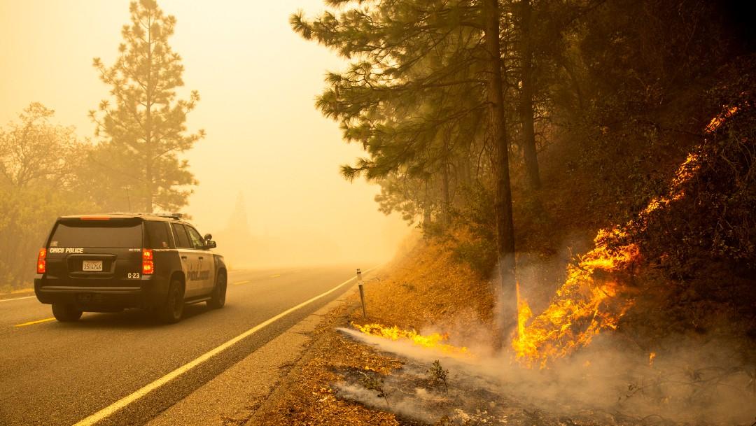 Incendio forestal en California deja al menos 10 muertos
