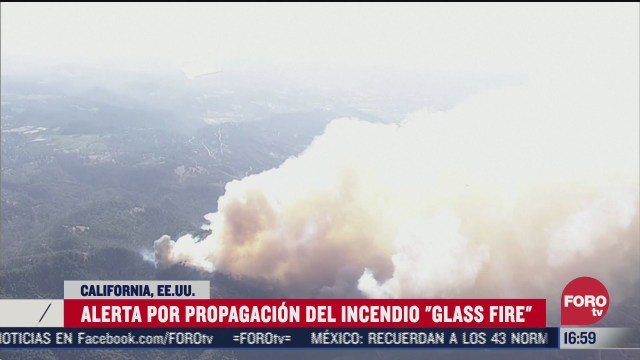 incendio glass fire consume 485 hectareas en california
