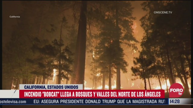 incendios en california se extienden hacia el norte