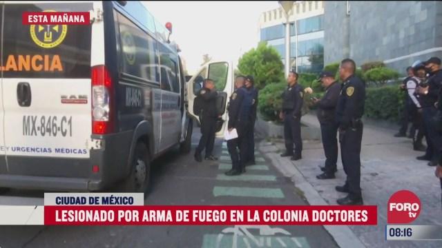 intento de asalto deja un lesionado en la colonia doctores