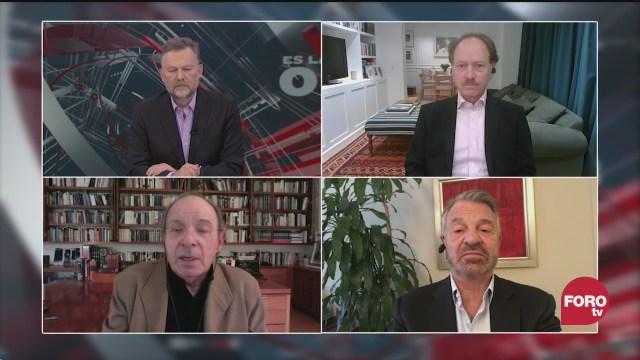 Leo Zuckermann, Héctor Aguilar Camín, Jorge Castañeda y Javier Tello discuten sobre el posible juicio a los expresidentes de México