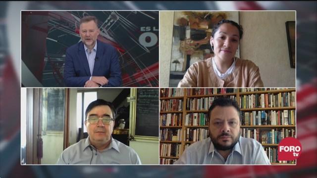 Leo Zuckermann, Carlos Bravo Regidor, Paula Sofía Vázquez y Ariel Rodríguez Kuri discuten sobre los programas sociales del gobierno de amlo