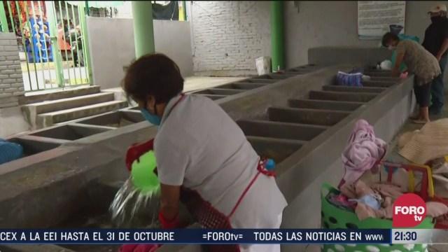 lavanderas de xochimilco en CDMX