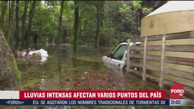 lluvia provoca destrozos en gran parte de mexico