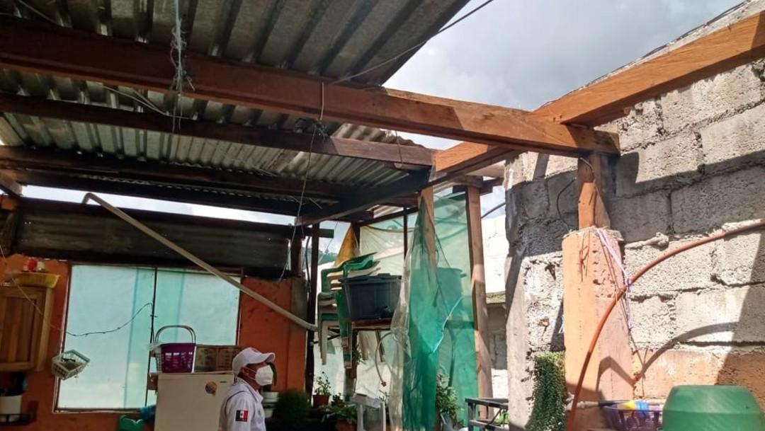 Lluvias causan daños en diferentes municipios de Chiapas