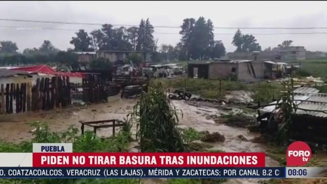 lluvias causaron afectaciones en morelos puebla y chiapas