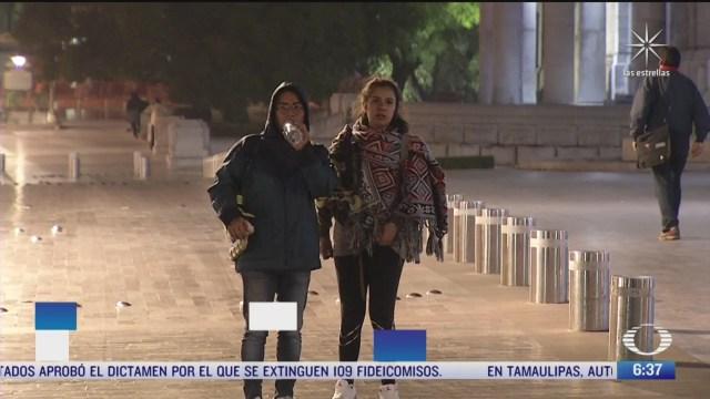 lluvias y frio en gran parte de mexico