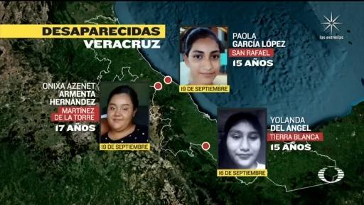 localizan a cuatro de siete adolescentes reportadas como desaparecidas en veracruz