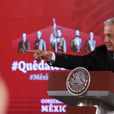 AMLO insta a hacer consulta sobre expresidentes más allá del costo