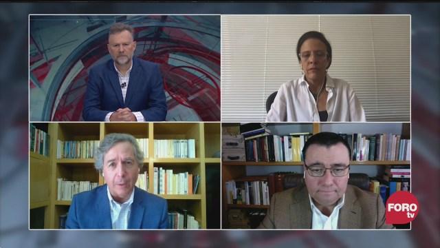 eo Zuckermann, Ana Laura Magaloni, Sabino Bastidas y Luis de la Calle los retos del TMEC tras la pandemia de covid 19