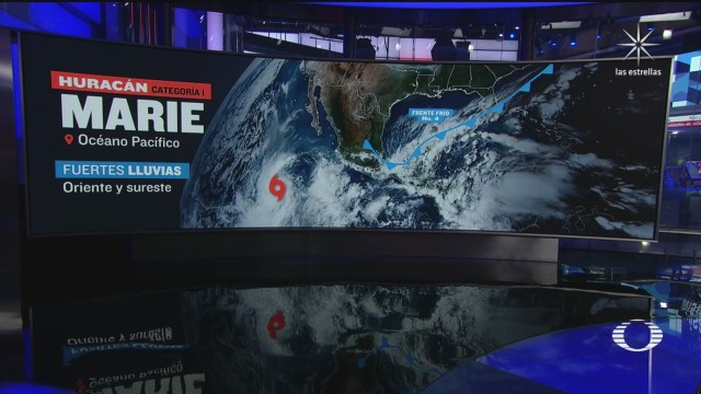 marie se convierte en huracan categoria 1 en el pacifico