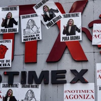 La huelga de trabajadores de Notimex comenzó el pasado junio