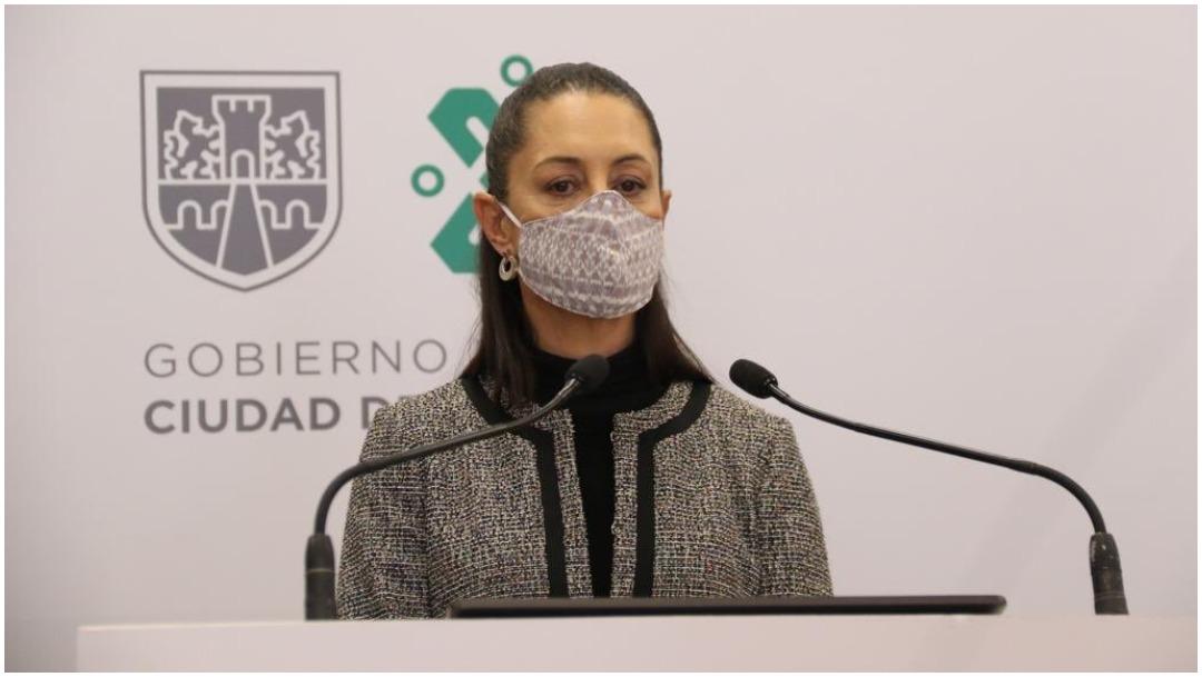 Mensaje de Claudia Sheinbaum, jefa de Gobierno de la CDMX