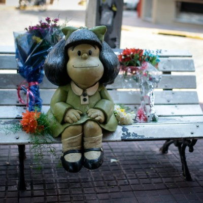 'Paren el mundo que me quiero bajar', la icónica frase de Mafalda