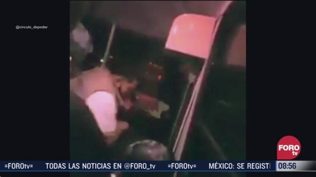 pasajeros golpean a asaltante en yautepec morelos