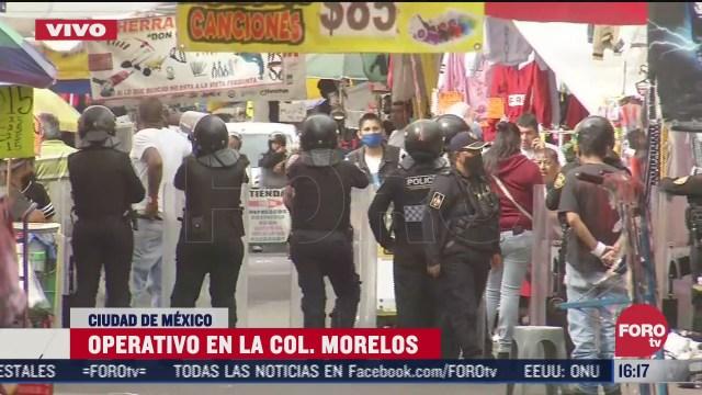 policia realiza operativo antidrogas en tepito cdmx